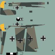 Asisbiz COD asisbiz Bf 109E1 Stab III.JG26 Werner Bartels WNr 6296F sd Kent July 1940