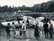 Asisbiz Messerschmitt Bf 109E1 Stab III.JG26 Werner Bartels WNr 6296 on display at Fairfield Croydon Aug 1940 05