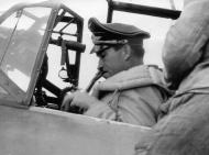 Asisbiz Messerschmitt Bf 109E4 Stab JG26 Adolf Galland WNr 5819 gets ready for flight France 1940 01