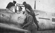 Asisbiz Messerschmitt Bf 109E4 Stab JG26 Adolf Galland WNr 5819 with Werner Molders France 1940 01