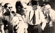 Asisbiz Aircrew Luftwaffe JG26 ace pilot and ex Olympian Joachim Muncheberg with flying comrades 06
