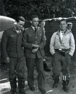 Asisbiz Aircrew Luftwaffe ace JG26 Josef Priller with a RAF downed pilot France 1940 01
