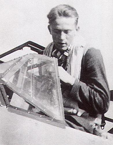 Aircrew Luftwaffe ace 9.JG27 Erbo Graf von Kageneck 01
