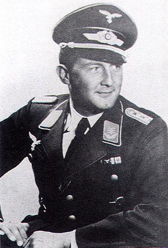 Aircrew Luftwaffe ace JG27 Wolfgang Schellmann 03