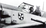 Asisbiz Aircrew Luftwaffe ace JG3 pilot Franz von Werra with Simba 1940 02