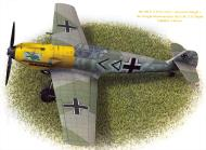 Asisbiz Messerschmitt Bf 109E4 Stab I.JG3 Gunther Lutzow WNr 1433 France May 1940 Avions 189 P25A