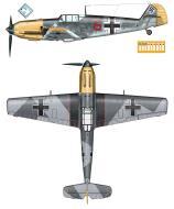Asisbiz Messerschmitt Bf 109E7 5.JG5 Red 6 WNr 3523 Stkz CS+AJ Wulf Dieter Widowitz 0A