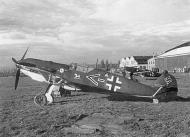 Asisbiz Messerschmitt Bf 109E1 Stab I.JG51 Chevron line Ernst Terry Speyer Germany Oct 1939 01