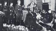 Asisbiz A full military honor funeral was held for Werner Molders after his tragic death Nov 28 1941 03
