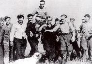 Asisbiz Aircrew ground personnel congratulate Hermann Graf Sep 1942 02