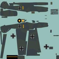 Asisbiz COD asisbiz Bf 109E1 3.JG52 Yellow 1 Germany 1939 RLM7071
