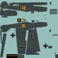 Asisbiz COD asisbiz Bf 109E1 3.JG52 Yellow 12 Germany 1939 RLM7071