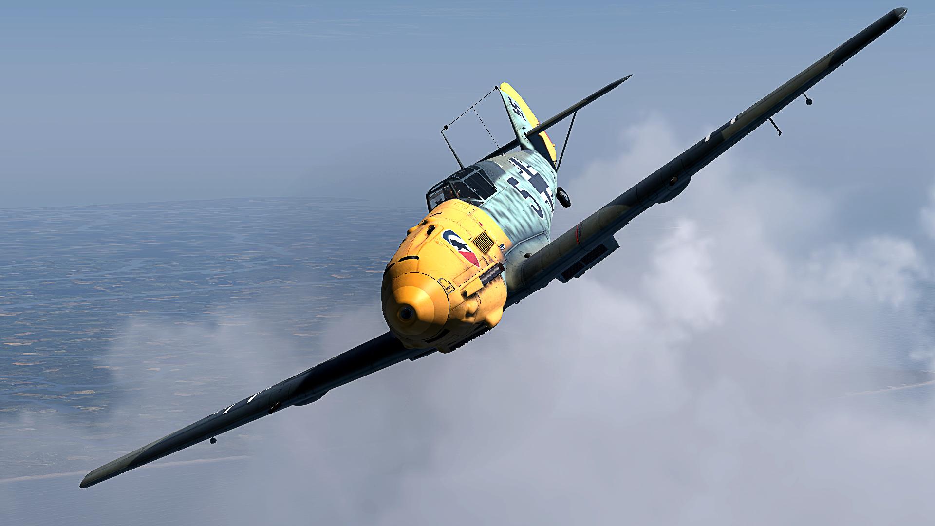 COD CF Bf 109E3 1.JG52 Black 5 Helmut Bennemann France 1940 V04