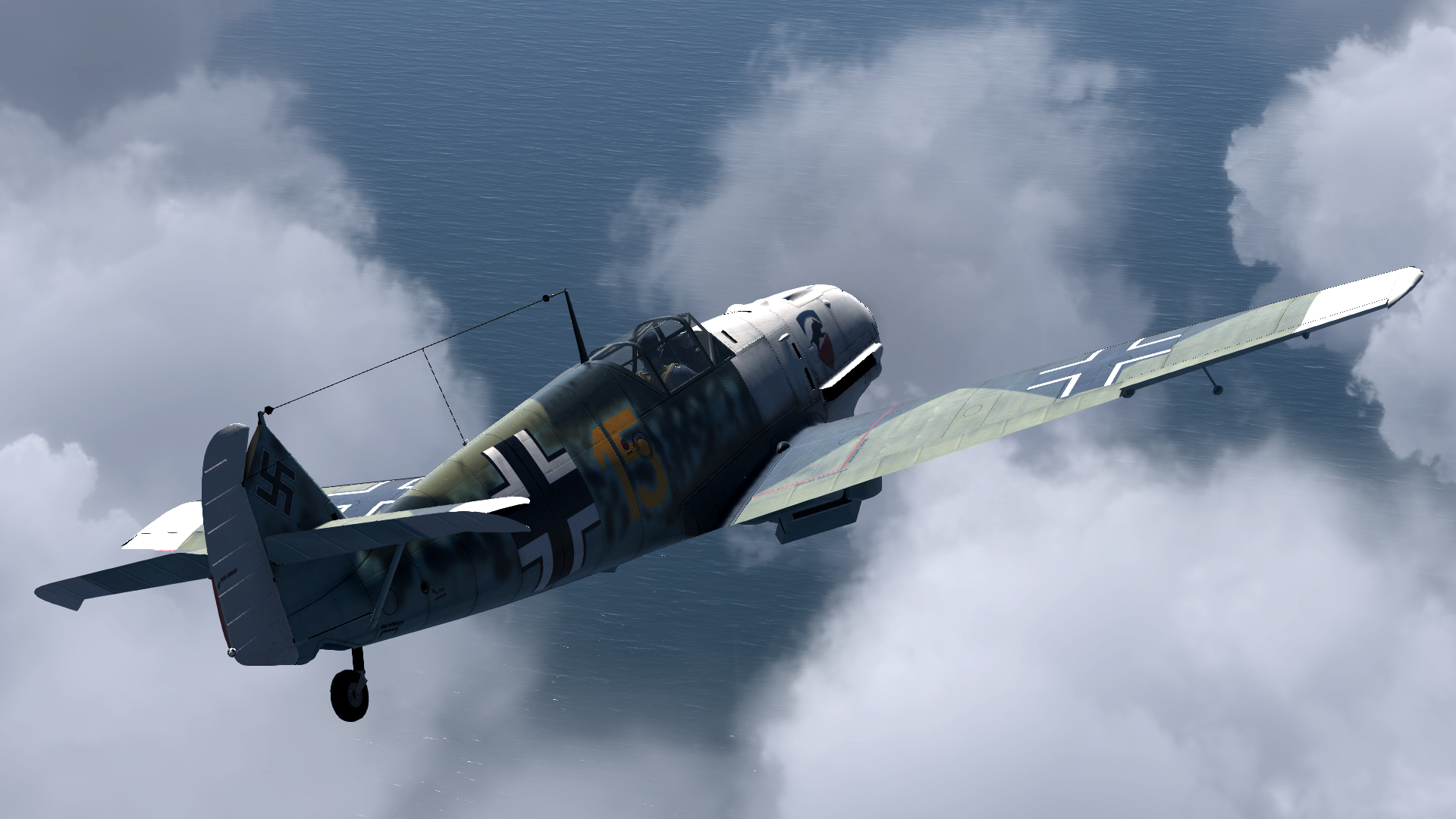 COD CF Bf 109E3 3.JG52 Yellow 15 Kurt Wolff France 1940 V01