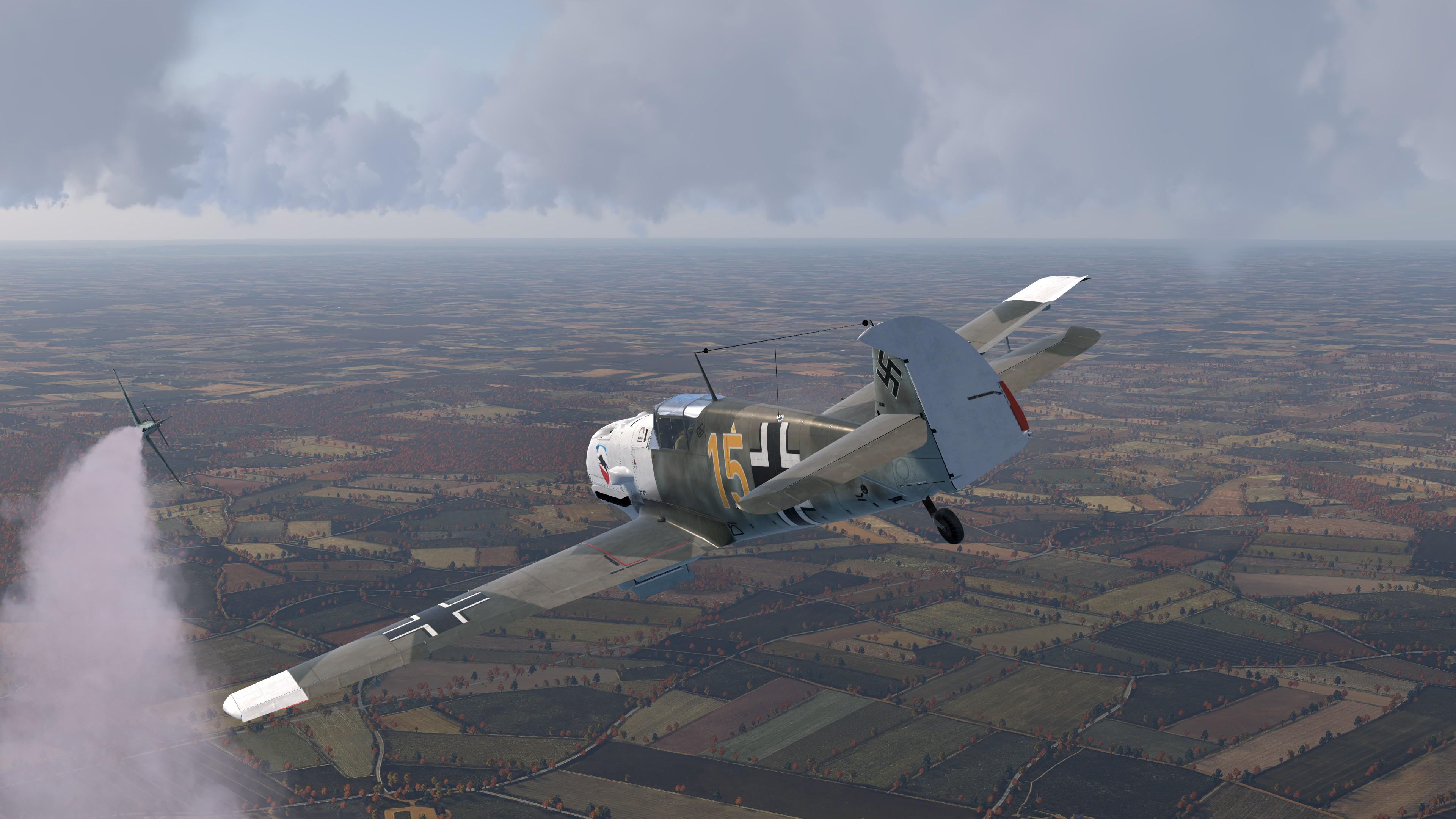 COD CF Bf 109E3 3.JG52 Yellow 15 Kurt Wolff France 1940 V03