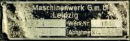 Asisbiz Aircraft manufacturers data plate from a Messerschmitt Bf 109E8 WNr 1510 3.JG52 Egon Gleser 01