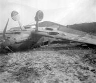 Asisbiz Messerschmitt Bf 109E 1.JG54 White 6 landing mishap ebay 03