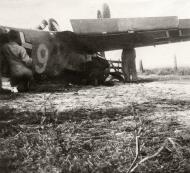 Asisbiz Messerschmitt Bf 109E 1.JG54 White 6 landing mishap ebay 08