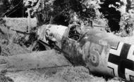 Asisbiz Messerschmitt Bf 109E3 3.JG52 Yellow 15 Kurt Wolff crash landed France 30th Aug 1940 01