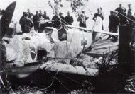 Asisbiz Messerschmitt Bf 109E3 3.JG52 Yellow 15 Kurt Wolff crash landed France 30th Aug 1940 02