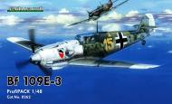 Asisbiz Messerschmitt Bf 109E3 3.JG52 Yellow 15 Kurt Wolff dog fighting with a Spitfire France Aug 1940 0A