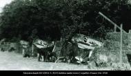 Asisbiz Messerschmitts Bf 109E4 3.JG52 hidden under trees Coquelles France Oct 1940 01