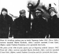 Asisbiz Aircrew pliots of the 10th Lovacko Ojacno Jato Taganrog airfield Jan 1942 01