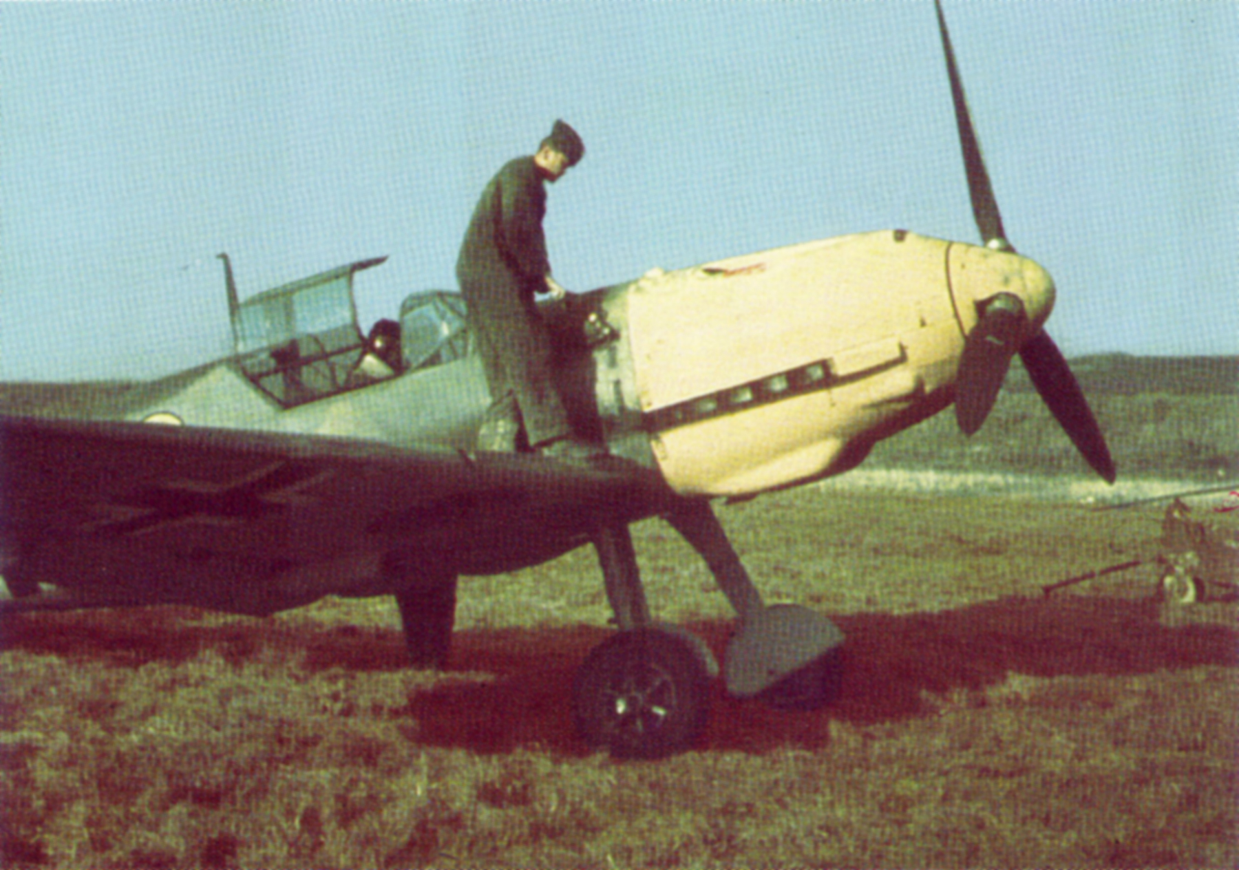 Messerschmitt Bf 109E1 JG53 France 1940 02