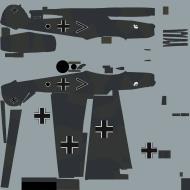 Asisbiz COD asisbiz Bf 109E1 Stab I.JG77 black chevron Hans Karl Keitel Krakow 1939