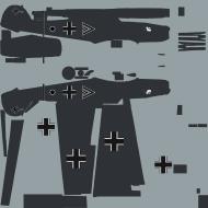 Asisbiz COD asisbiz Bf 109E1 Stab I.JG77 double chevron WNr 3250 Germany 1939 1 Tone