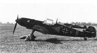 Asisbiz Messerschmitt Bf 109E3 Stab I.JG77 in early one tone camouflage WNr 3250 Germany 1939 01