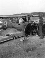 Asisbiz Bf 109E 1.JG77 Yellow 9 used by Hugo Dahmer belly landed Titowka btw 24th n 30th Jul 1941 01
