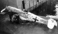 Asisbiz Messerschmitt Bf 109E 4.JG77 White 10 banged up and waiting repairs Norway 1940 01