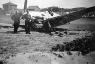 Asisbiz Messerschmitt Bf 109E1 2.JG77 Black 1 landing accident Norway 1940 ebay 01