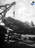 Asisbiz Messerschmitt Bf 109E4 II.JG77 being salvaged location unknown ebay 01