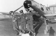 Asisbiz Messerschmitt Bf 109E7 2.JG1 Margot with Helmut Maul,Fritz Bahl and Rene Mohler Holland Aug 1941 01