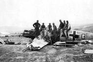Asisbiz Messerschmitt Bf 109E4B 5.(S)LG2 Triangle Black G force landed Greece 01