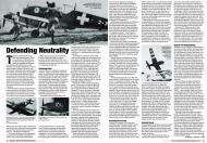 Asisbiz Article Switzerlands Bf 109s Defending Neutrality by Model Airplane Int 093 Apr 2013 0A