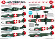 Asisbiz Article Switzerlands Bf 109s Defending Neutrality by Model Airplane Int 093 Apr 2013 0B