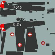 Asisbiz COD asisbiz Bf 109E3 Swiss Fliegertruppe J315 Lt Benoit Switzerland 1939