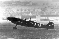 Asisbiz Messerschmitt Bf 109D1 Swiss J308 WNr 2303 Switzerland 01
