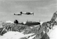 Asisbiz Messerschmitt Bf 109E3 Swiss Flieger Kompagnie FlKp8 J377 WNr 2358 Swiss Alps autumn 1944 01