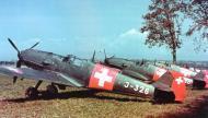 Asisbiz Messerschmitt Bf 109E3 Swiss Flieger Kompagnie FlKp9 J326 WNr 2174 and J350 Switzerland 01
