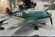 Asisbiz Messerschmitt Bf 109E3 Swiss J355 WNr 2422 Dubendorf Museum 01