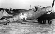 Asisbiz Messerschmitt Bf 109E4B Stab StG2 Green C triangle 1941 01