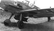 Asisbiz Messerschmitt Bf 109E7 Stab StG2 armed with a 250kg bomb 01