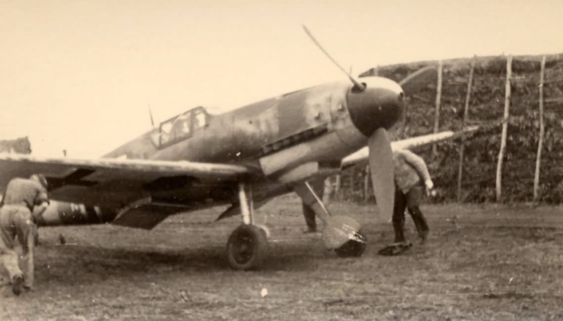Messerschmitt Bf 109F2 at Orel Belarus 1942 ebay1