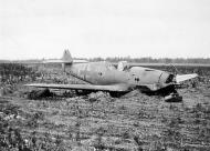 Asisbiz Ostfront Stab III Gruppe Messerschmitt Bf 109F2 aircraft belly landed Russia ebay1