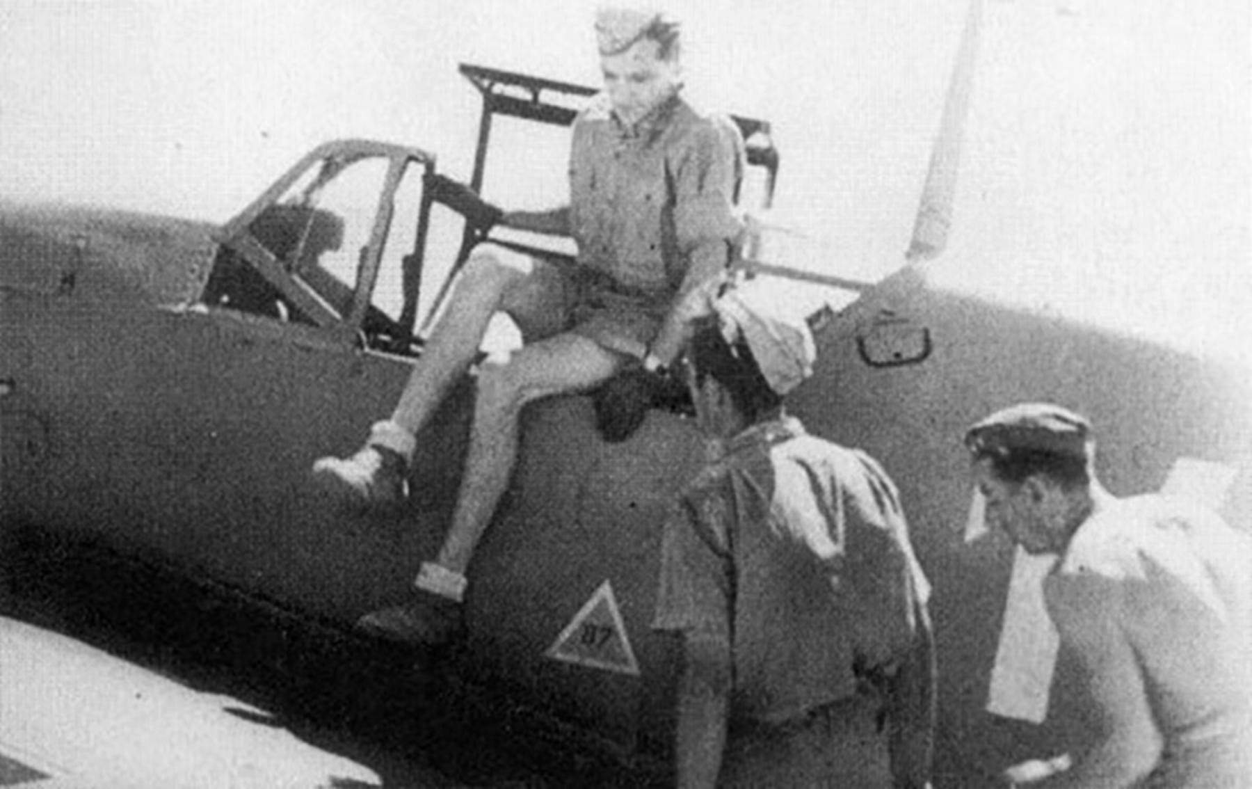 Aircrew Luftwaffe JG27 ace Hans Joachim Marseille North Africa 02
