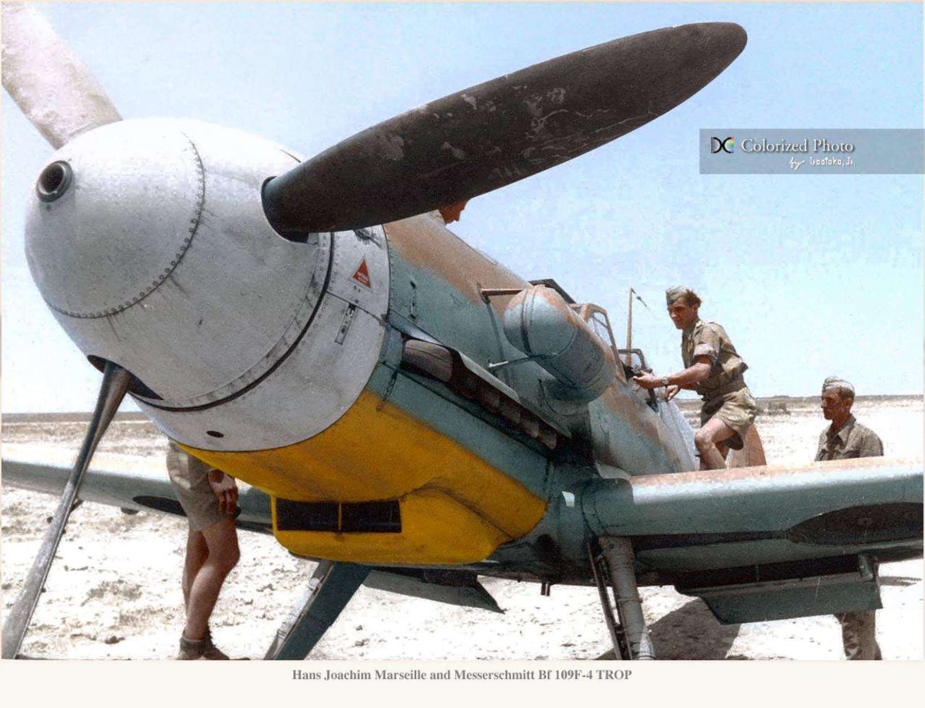 Aircrew Luftwaffe JG27 ace Hans Joachim Marseille North Africa 05